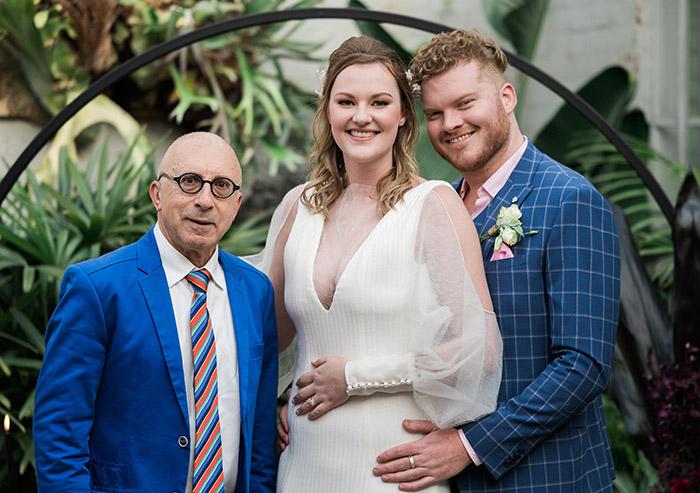 Elliot Goblet Sydney wedding MC comedian with fiona and mathew